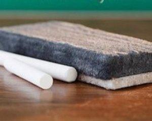 chalk eraser
