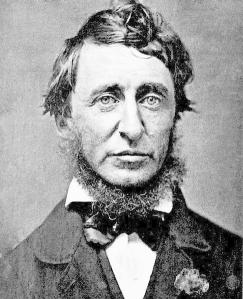 Henry David Thoreau from 1856